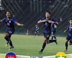 CĐV Myanmar chỉ trích trọng tài sau trận thua U-22 Campuchia