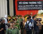Đưa linh cữu bà Nguyễn Thị Thu về Nhà tang lễ thành phố