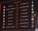"""Chelsea và Arsenal gặp đối thủ """"dễ thở"""" ở vòng 16 đội Europa League"""