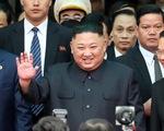 Nhà lãnh đạo Triều Tiên tươi cười rạng rỡ khi đặt chân tới Đồng Đăng