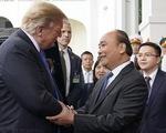 Thủ tướng Nguyễn Xuân Phúc hội kiến Tổng thống Trump