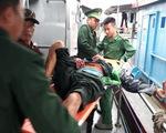 Nổ bình gas trên tàu cá, 6 ngư dân bị thương nặng