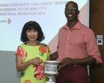 Techcombank nhận giải thưởng từ Giải Marathon quốc tế TP. Hồ Chí Minh