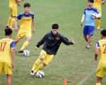 U-23 Việt Nam vắng HLV Park Hang Seo buổi tập chiều 11-3