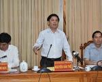Bộ trưởng Nguyễn Văn Thể: Xây dựng, quản lý đường tránh TP Long Xuyên như cao tốc