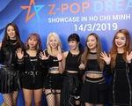 Nhóm nhạc đa quốc tịch Z-Boys và Z-Girls chào sân khán giả Việt Nam