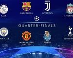 Những điều cần biết về lễ bốc thăm tứ kết Champions League chiều nay