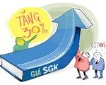 Suýt tăng giá SGK thêm 30%