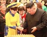 Ông Kim Jong Un nghe hát