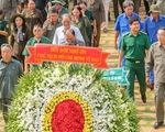 Dâng hương tưởng niệm 99 liệt sĩ thanh niên xung phong TP.HCM
