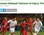 Báo Indonesia: U23 Indonesia đã yếu thế ngay từ hiệp một