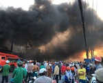Tiền Giang: Cháy lớn tại cửa hàng xe gắn máy, nhiều xe bị thiêu rụi