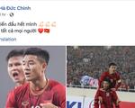 Các cầu thủ U23 Việt Nam viết gì lên Facebook sau trận thắng Thái Lan?