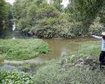 Nước đen bốc mùi, kênh rạch ô nhiễm đổ về Bình Chánh