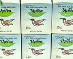 Thu hồi trà thảo mộc Vy&Tea chứa chất cấm gây ung thư