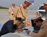 2 đợt ra quân, phát hiện 182 tài xế dương tính với ma túy