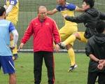 HLV Park Hang Seo chưa hài lòng với tân binh U-23