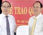 Ông Nguyễn Hồ Hải giữ chức trưởng Ban Tổ chức Thành ủy TP.HCM