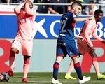 Vắng Messi, Barca bị đội chót bảng Huesca cầm chân