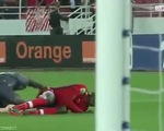 Video chấn thương 'rùng rợn' của thủ môn tuyển Senegal