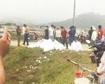 Công an kiểm tra hàng chục bao tải nghi chứa ma túy ở Nghệ An