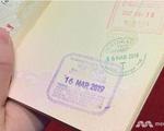 Singapore không đóng dấu xuất cảnh hộ chiếu cho du khách từ 22-4