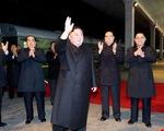 Ông Kim Jong Un đã đến Nga, được chào đón với
