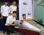 Sinh viên sáng chế phương tiện gom rác thủy bộ