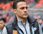 HLV Fabio Cannavaro chia tay đội tuyển Trung Quốc sau 2 trận
