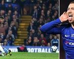 Hazard lóe sáng giúp Chelsea vươn lên hạng 3