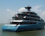 Du thuyền 150 triệu USD của ông chủ đội bóng Tottenham Hotspur cập cảng Tiên Sa