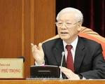 Tổng Bí thư, Chủ tịch nước Nguyễn Phú Trọng khai mạc Hội nghị Trung ương 10