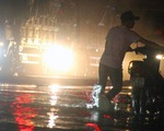 Mưa lớn ở Đồng Nai, Biên Hòa ngập sâu, quốc lộ 1 kẹt cứng 3km