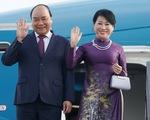 Thủ tướng Nguyễn Xuân Phúc tới Saint Petersburg, bắt đầu thăm LB Nga
