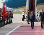 Liên bang Nga tổ chức lễ đón chính thức Thủ tướng Nguyễn Xuân Phúc