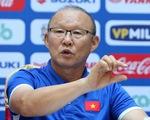 HLV Park Hang Seo họp báo, giải đáp thắc mắc về danh sách tuyển VN