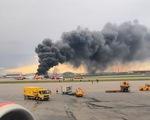 41 người chết khi máy bay Nga hạ cánh khẩn cấp ở Mátxcơva