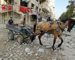 Đấu pháo kinh hoàng ở Dải Gaza