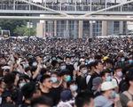 Biển người biểu tình Hong Kong chiếm giữ các đường lớn