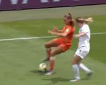 Video tái hiện cú xoay người 'kinh điển' của Cruyff ở World Cup nữ