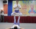 Càng nhiều tỉnh, thành phố hưởng ứng Ngày Quốc tế Yoga