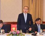 Vientiane muốn TP.HCM hỗ trợ kinh nghiệm xây dựng đô thị thông minh