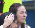 Video trưởng đoàn tuyển nữ Thái Lan bật khóc khi đội nhà ghi bàn