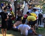 Trượt chân xuống thác trượt, bé gái tử vong tại khu du lịch tắm suối