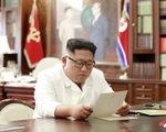 Chủ tịch Triều Tiên Kim Jong Un nhận lá thư