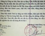 Vĩnh Phúc chỉ đạo xử nghiêm vụ thanh tra Bộ Xây dựng nhận hối lộ