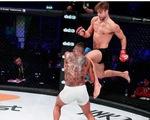 Video võ sỹ MMA bị trừ điểm vì đá ngón chân vào
