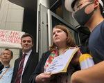 Người biểu tình Hong Kong gây sức ép với G20 về dự luật dẫn độ