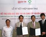 Đại học Duy Tân ký hiệp định thư với quỹ hỗ trợ du học Nhật