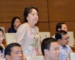 Quốc hội chất vấn: Đại biểu